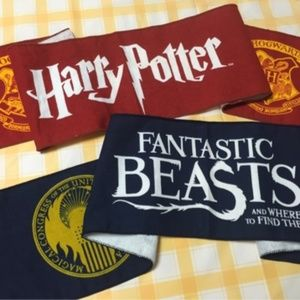 Harry Potter & Fantastic Beasts Muffler Towels